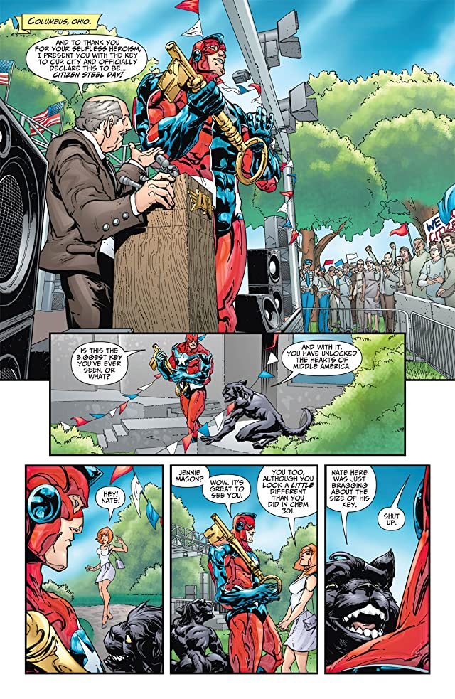 click for super-sized previews of JSA All-Stars #14