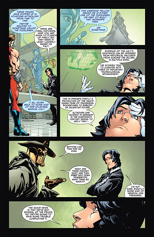 click for super-sized previews of JSA All-Stars #15