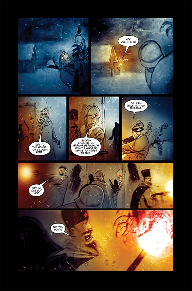 click for super-sized previews of 30 Days of Night: Red Snow #2