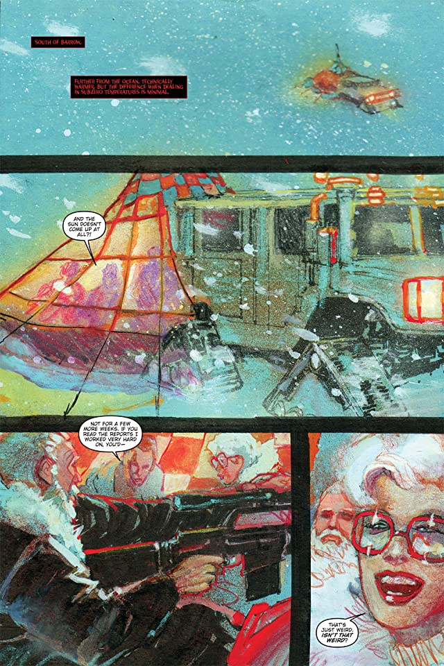 click for super-sized previews of 30 Days of Night: Beyond Barrow #2