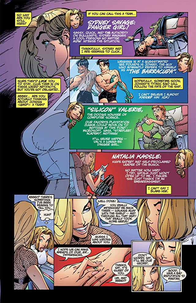 click for super-sized previews of Danger Girl #4