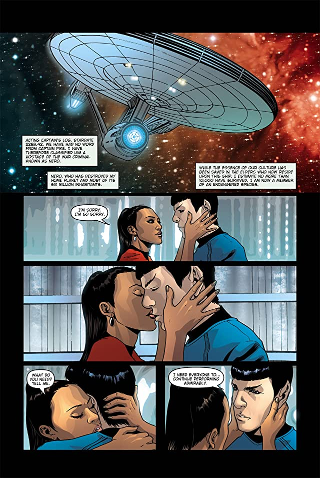 click for super-sized previews of Star Trek: Movie Adaptation #5