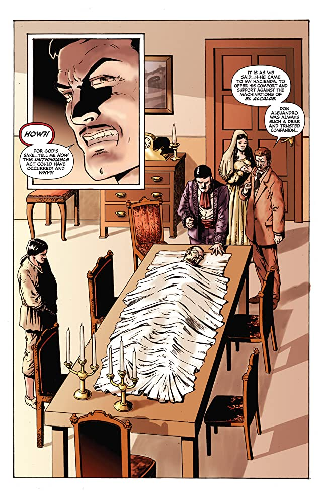 click for super-sized previews of Zorro Rides Again #5