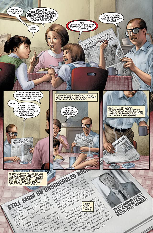 click for super-sized previews of Marvels: Eye of the Camera #1 (of 6)