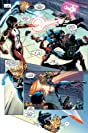 click for super-sized previews of Captain America Corps #5