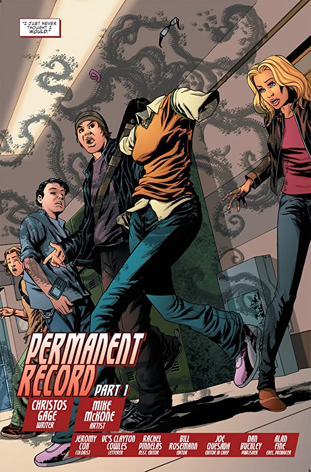 click for super-sized previews of Avengers Academy #1