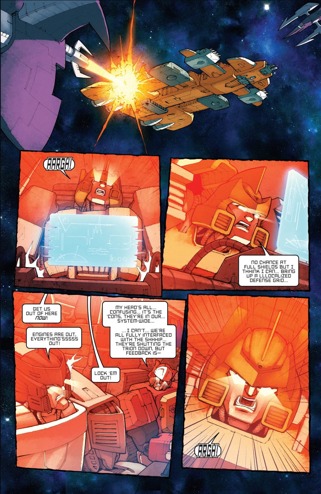 Transformers: All Hail Megatron #5