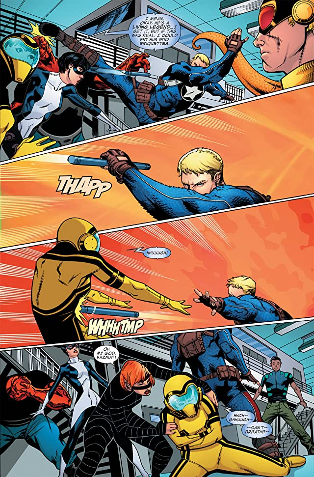 click for super-sized previews of Avengers Academy #5