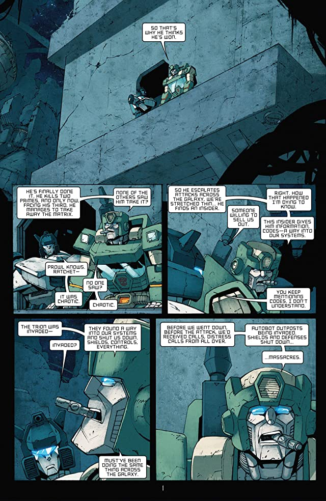Transformers: All Hail Megatron #6