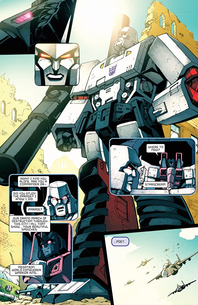 click for super-sized previews of Transformers: All Hail Megatron #6