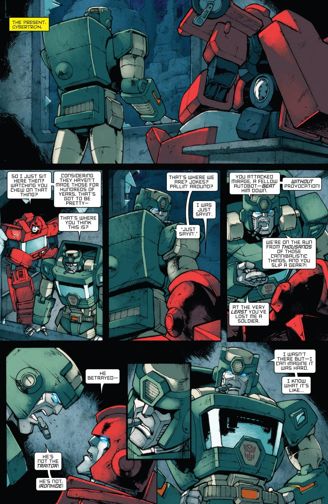Transformers: All Hail Megatron #8