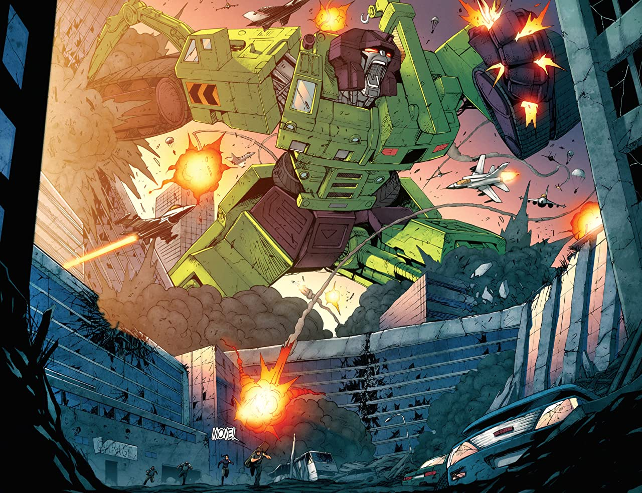 Transformers: All Hail Megatron #11