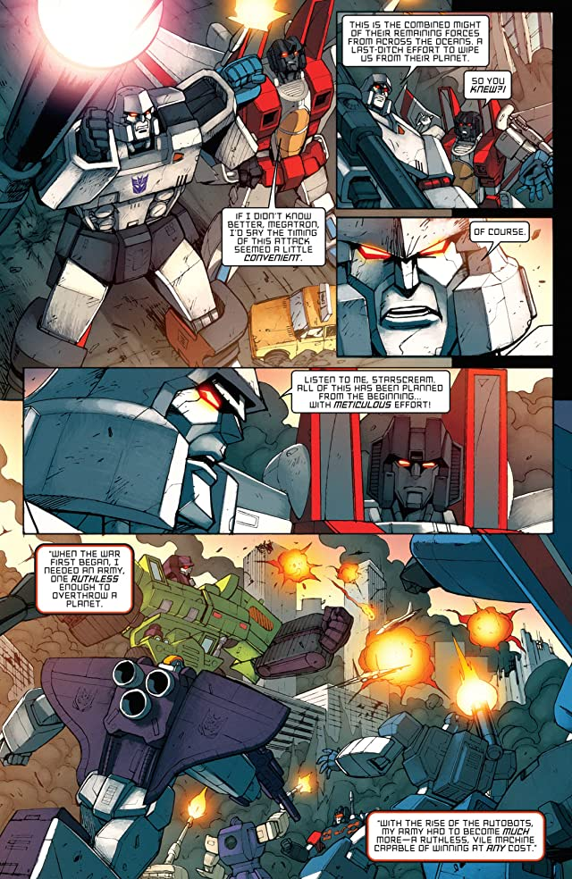 click for super-sized previews of Transformers: All Hail Megatron #11