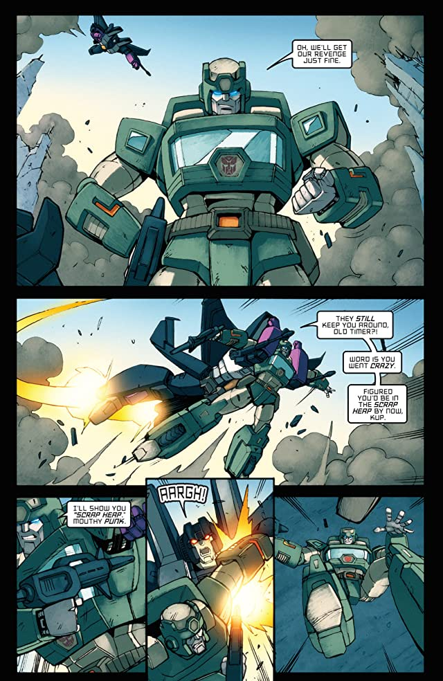 click for super-sized previews of Transformers: All Hail Megatron #12