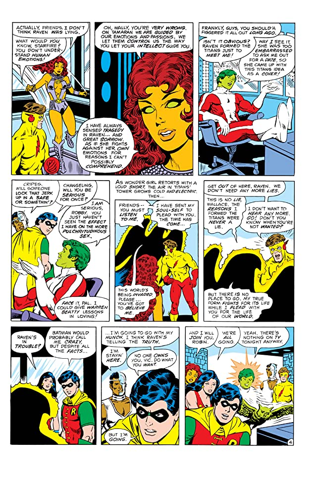 New Teen Titans (1980-1988) #5