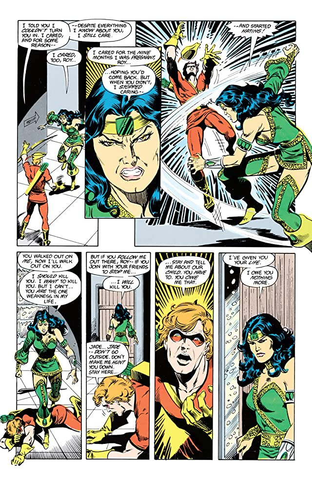 click for super-sized previews of The New Teen Titans (1984-1996) #21