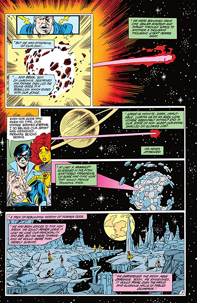 click for super-sized previews of The New Titans (1984-1996) #51