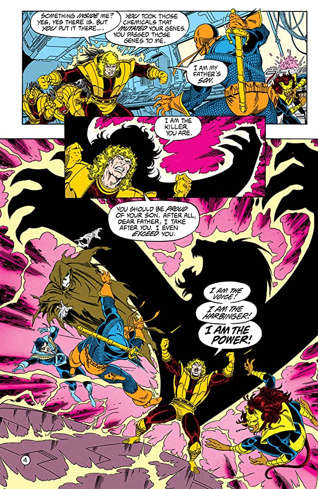 click for super-sized previews of The New Titans (1984-1996) #76