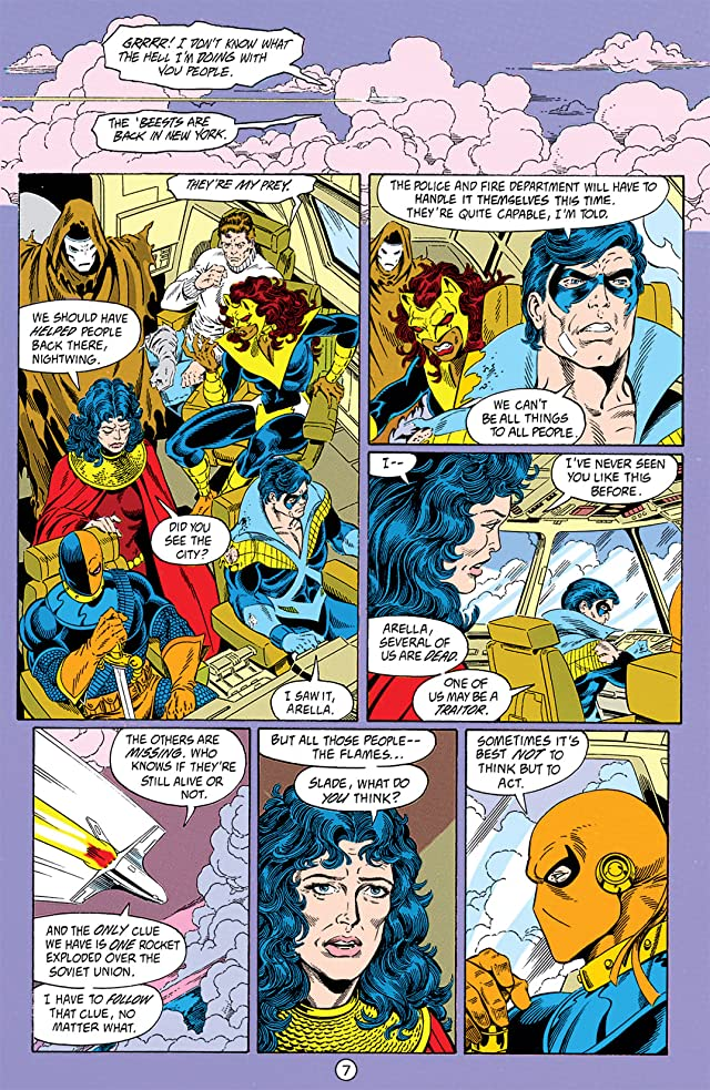 click for super-sized previews of The New Titans (1984-1996) #77