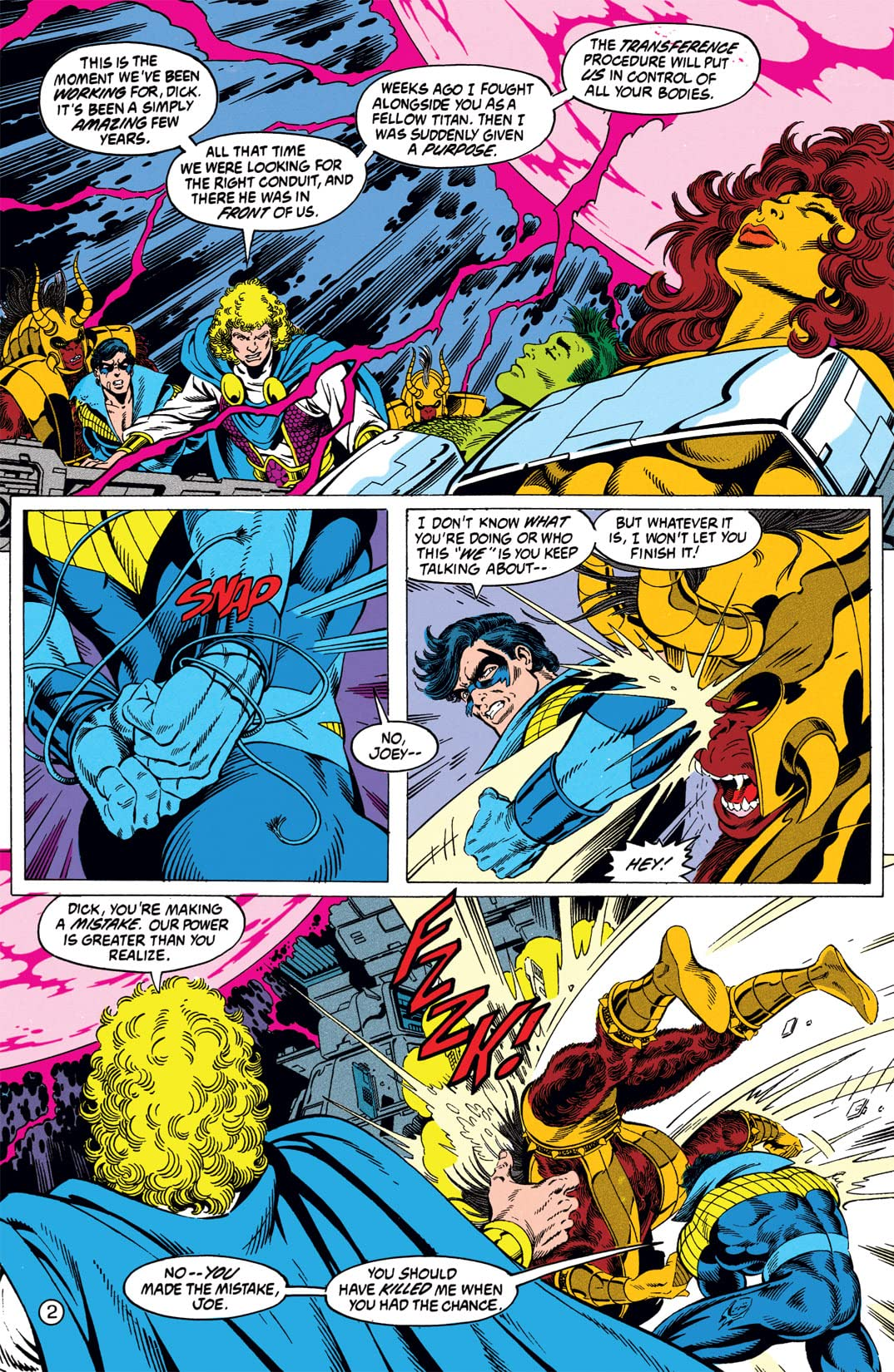 The New Titans (1984-1996) #82