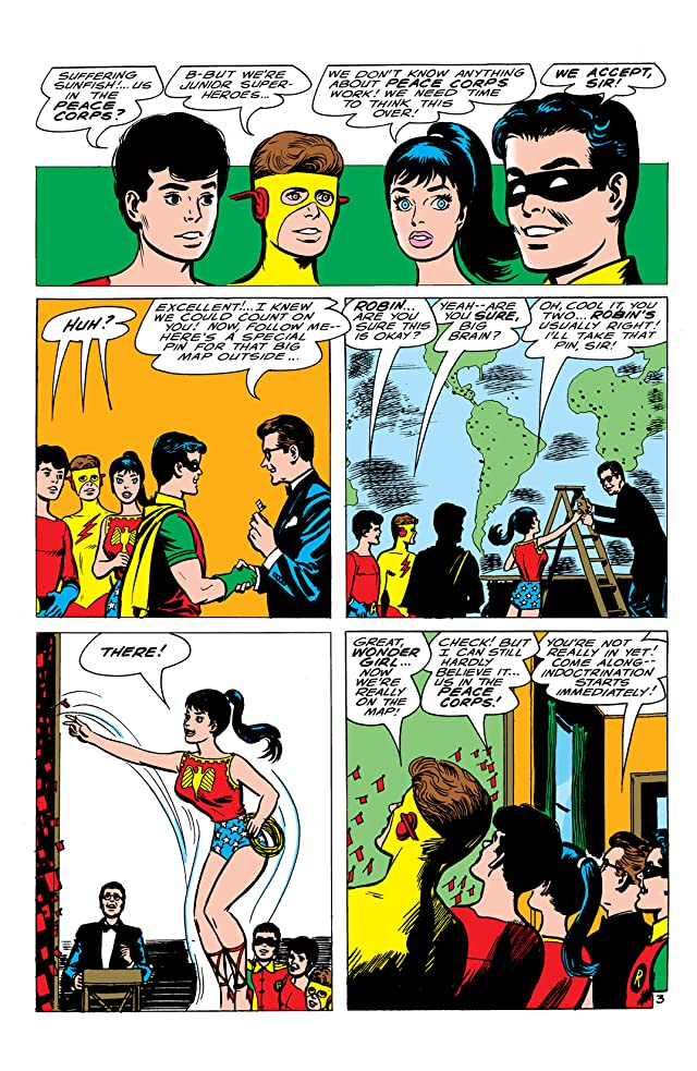 click for super-sized previews of Teen Titans (1966-1978) #1