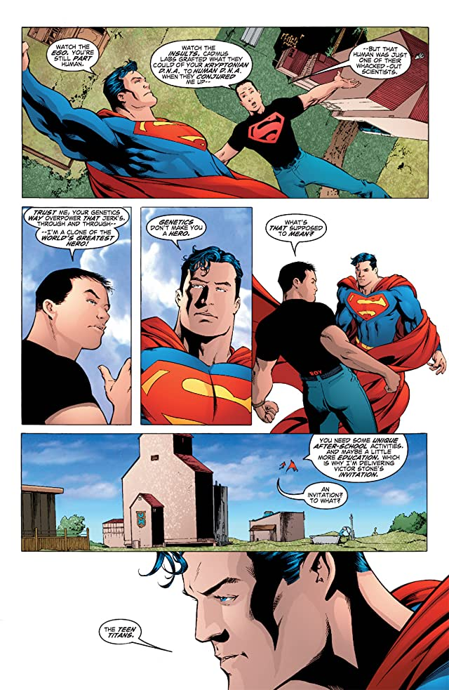 click for super-sized previews of Teen Titans (2003-2011) #1