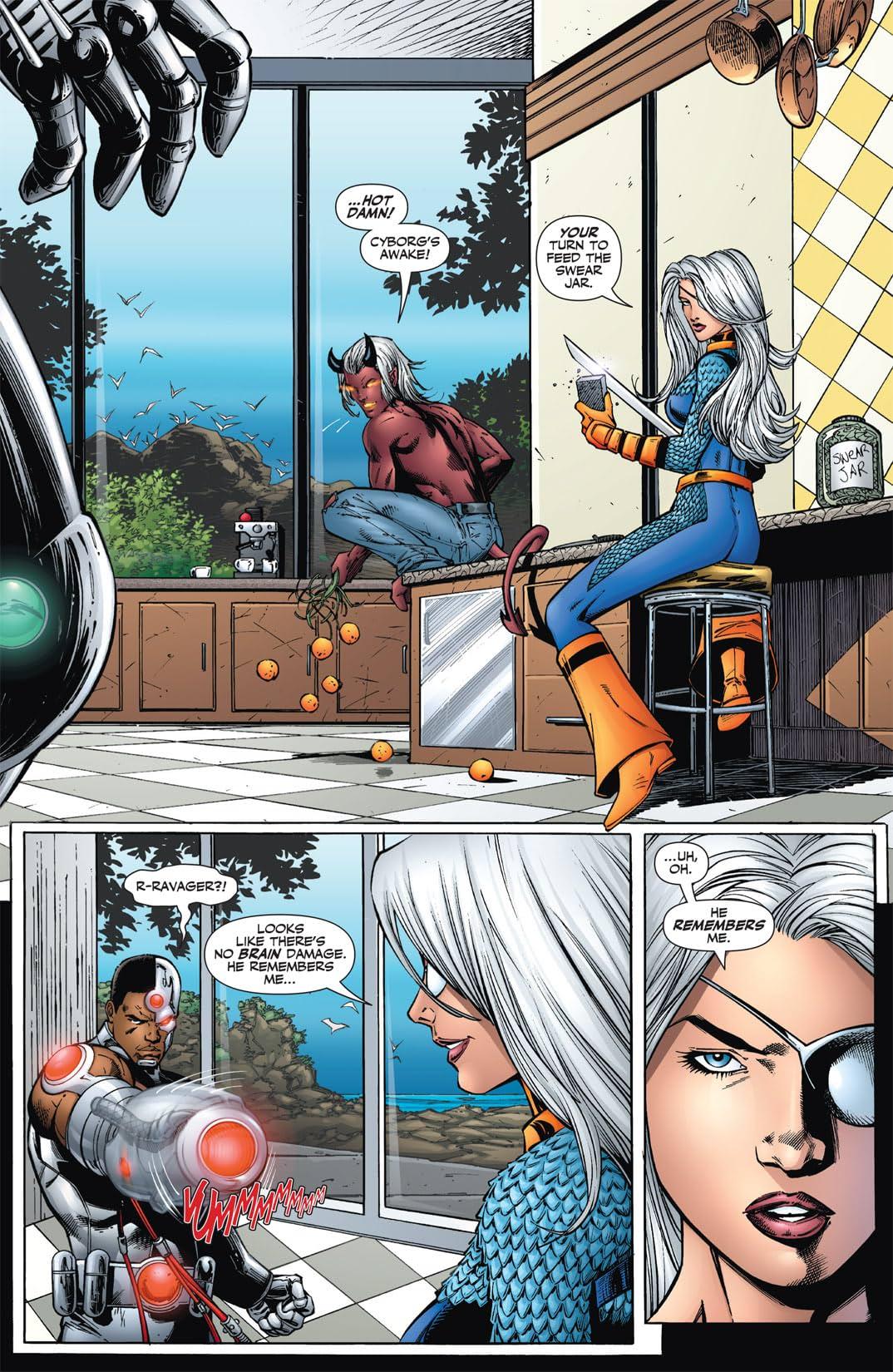 Teen Titans (2003-2011) #34