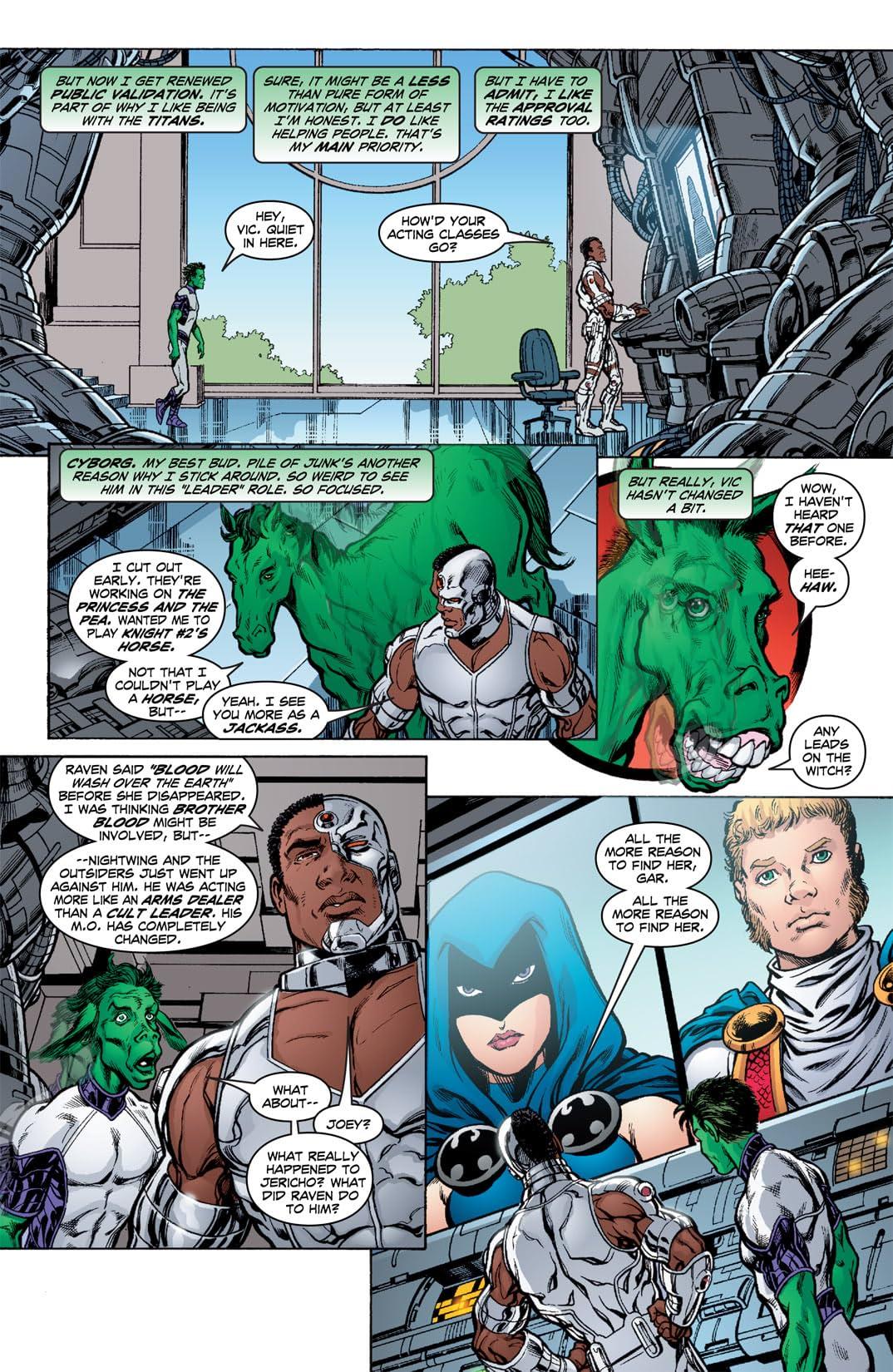 Teen Titans (2003-2011) #7