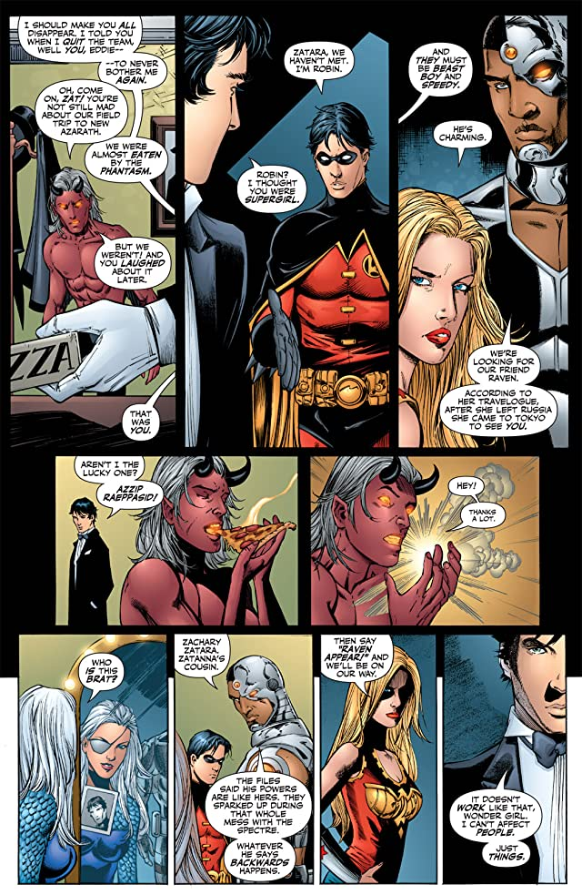 click for super-sized previews of Teen Titans (2003-2011) #39