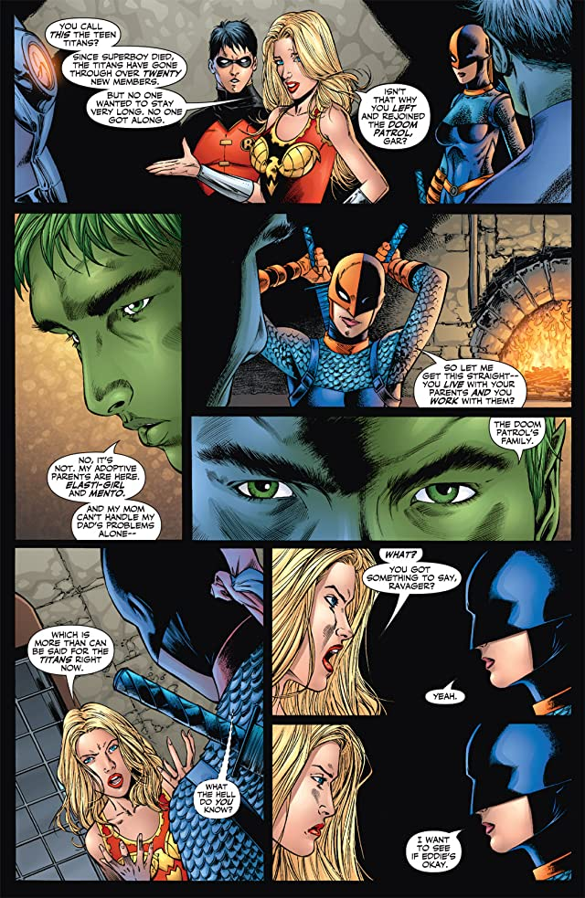 click for super-sized previews of Teen Titans (2003-2011) #36