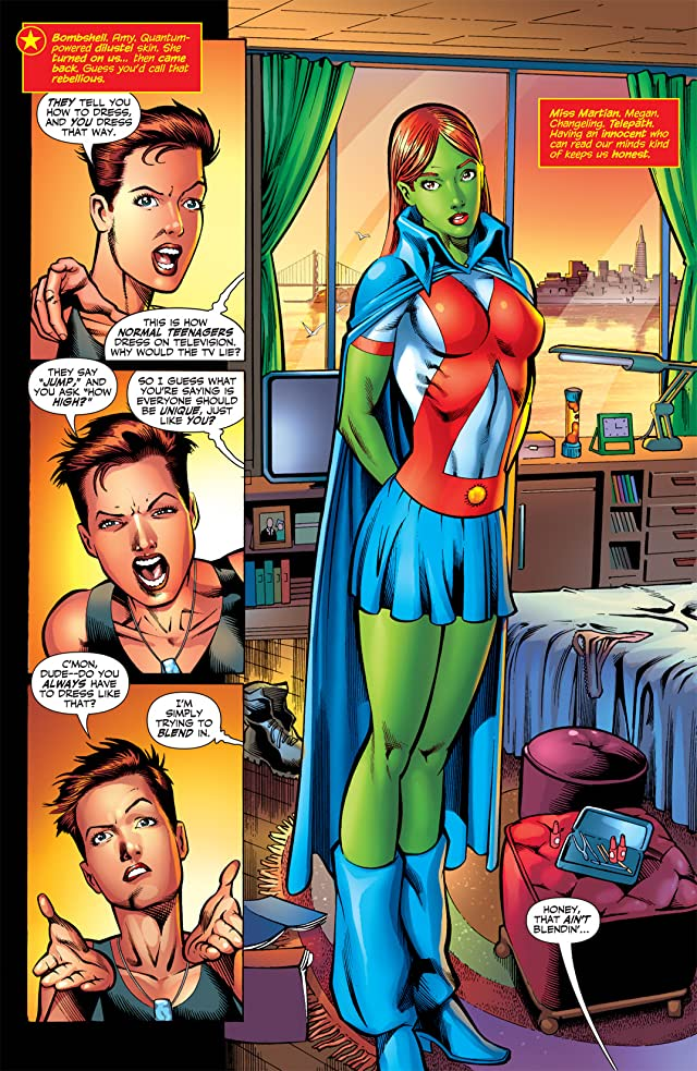 click for super-sized previews of Teen Titans (2003-2011) #72