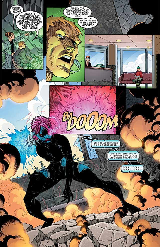 Titans/Young Justice: Graduation Day #2 (of 3)
