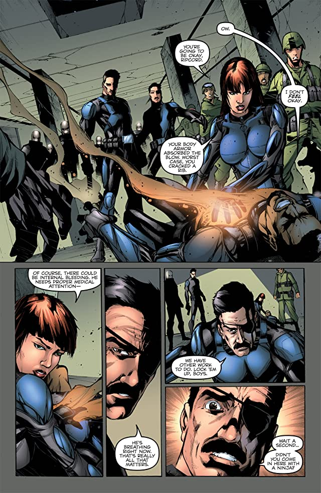 click for super-sized previews of G.I. Joe: Operation HISS #4