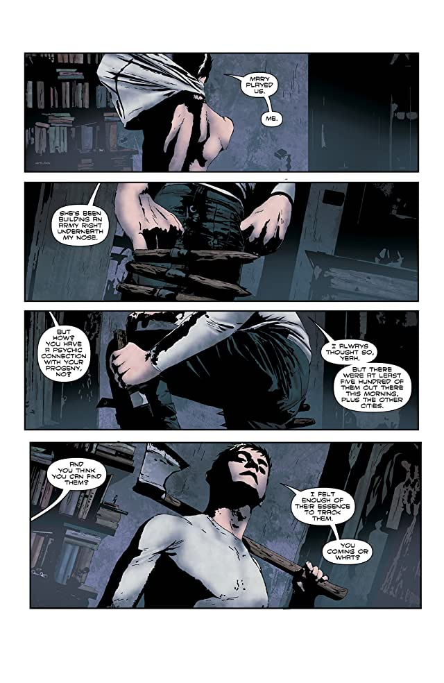 click for super-sized previews of I, Vampire (2011-2013) #3