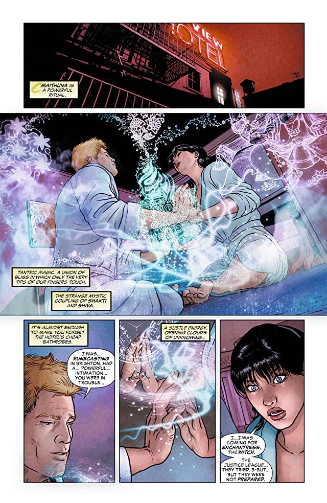 click for super-sized previews of Justice League Dark (2011-2015) #3