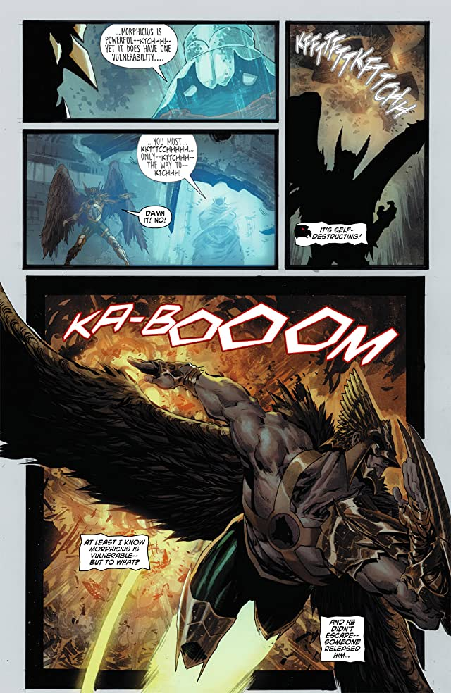 click for super-sized previews of The Savage Hawkman (2011-2013) #3