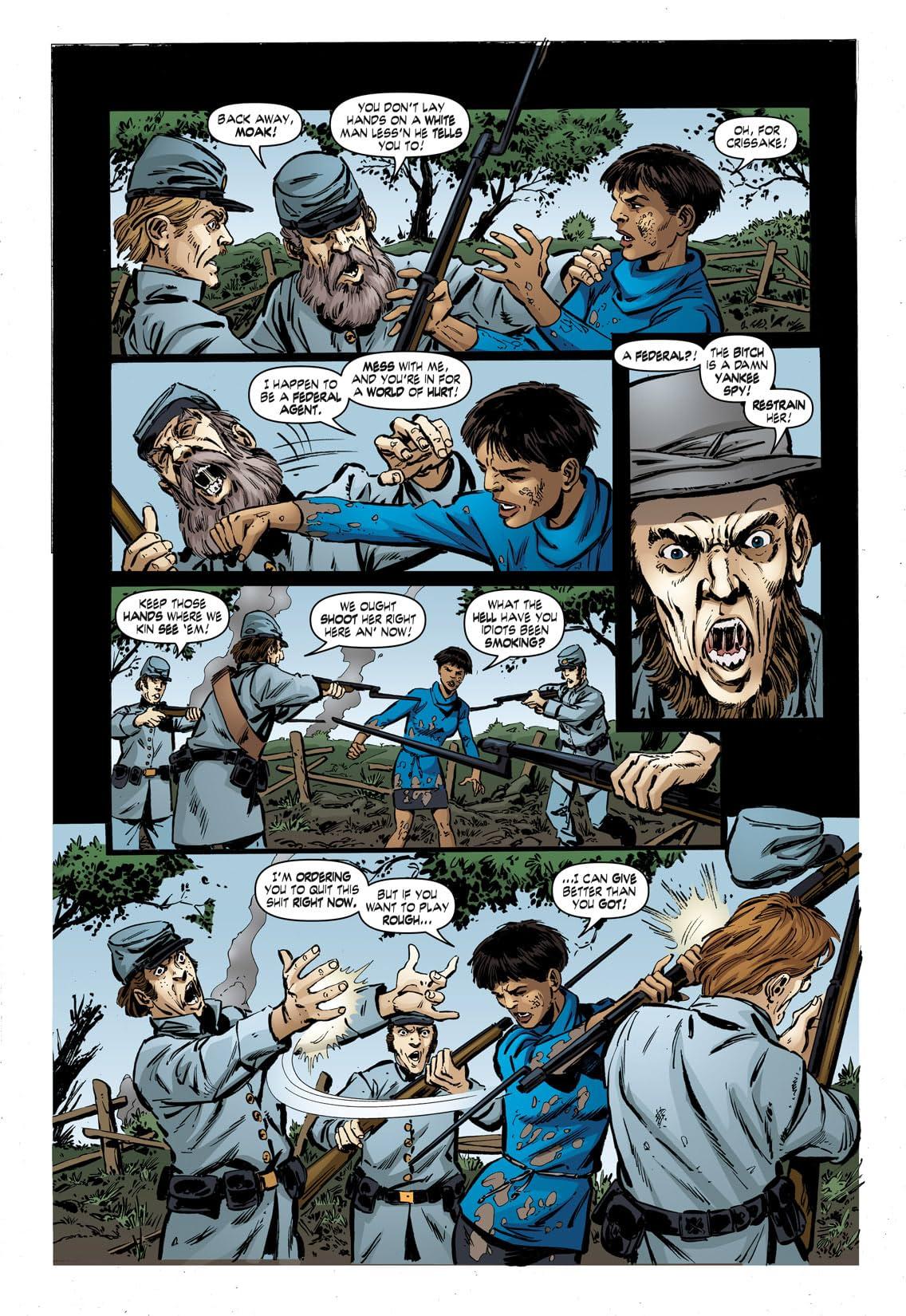John Byrne's Next Men #32