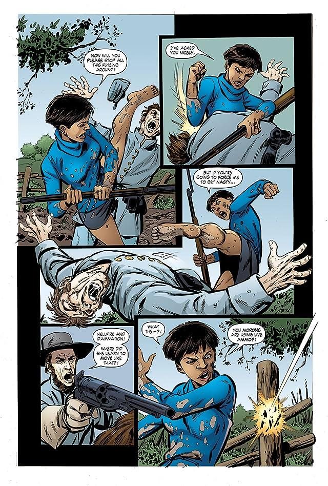 click for super-sized previews of John Byrne's Next Men #32