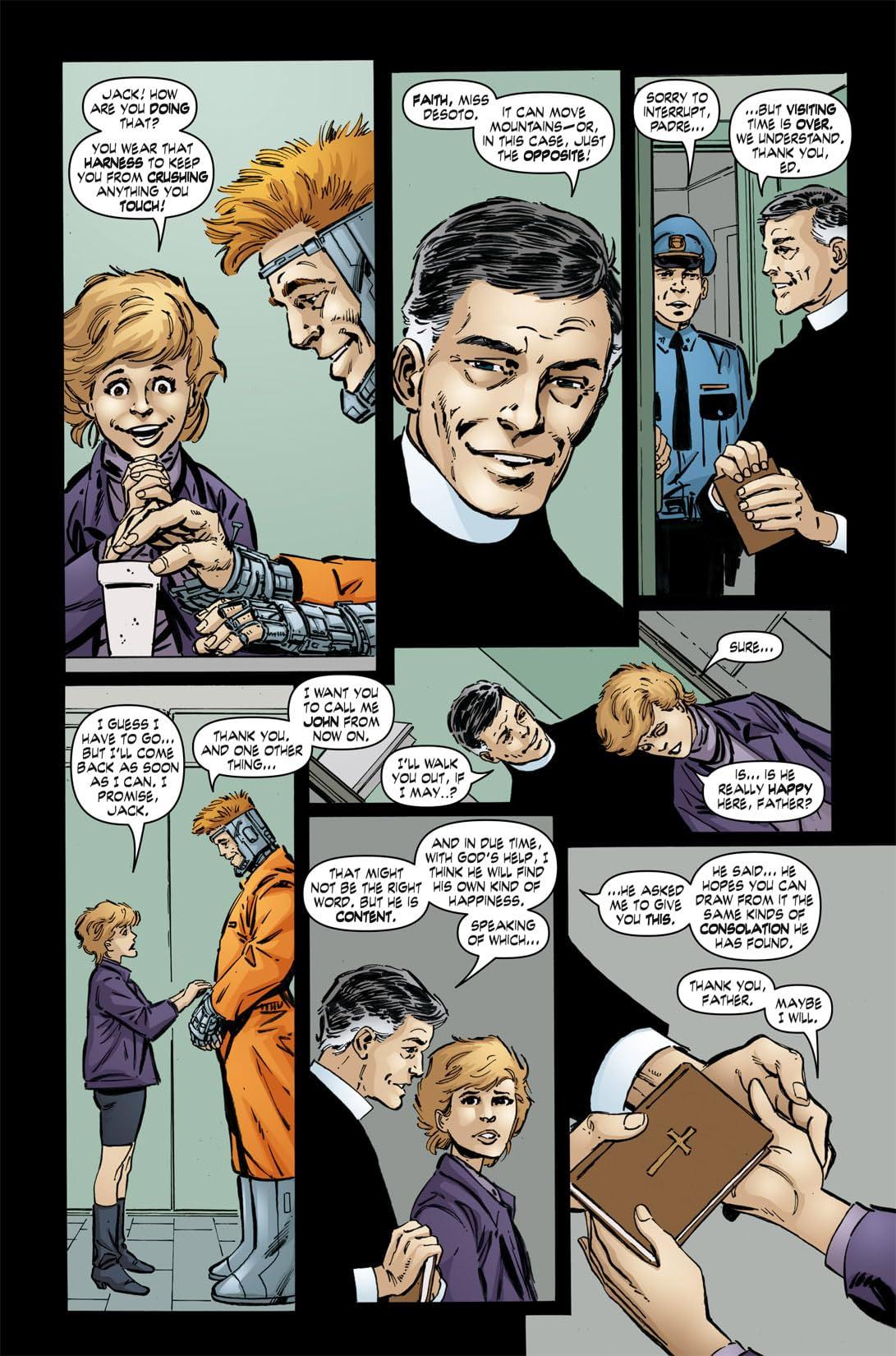 John Byrne's Next Men #34