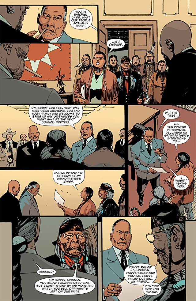 click for super-sized previews of Scalped #45