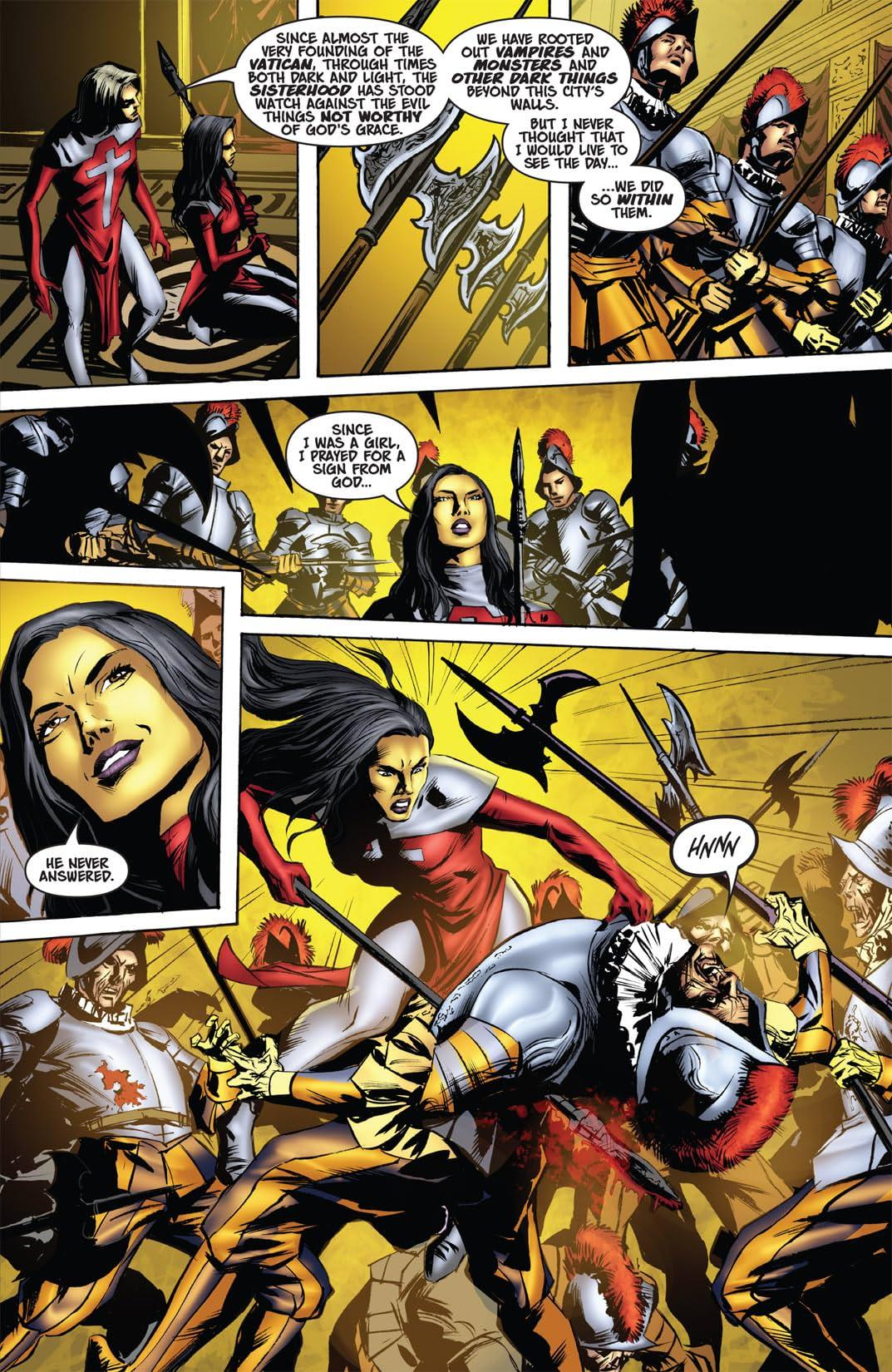 Vampirella and the Scarlet Legion #4