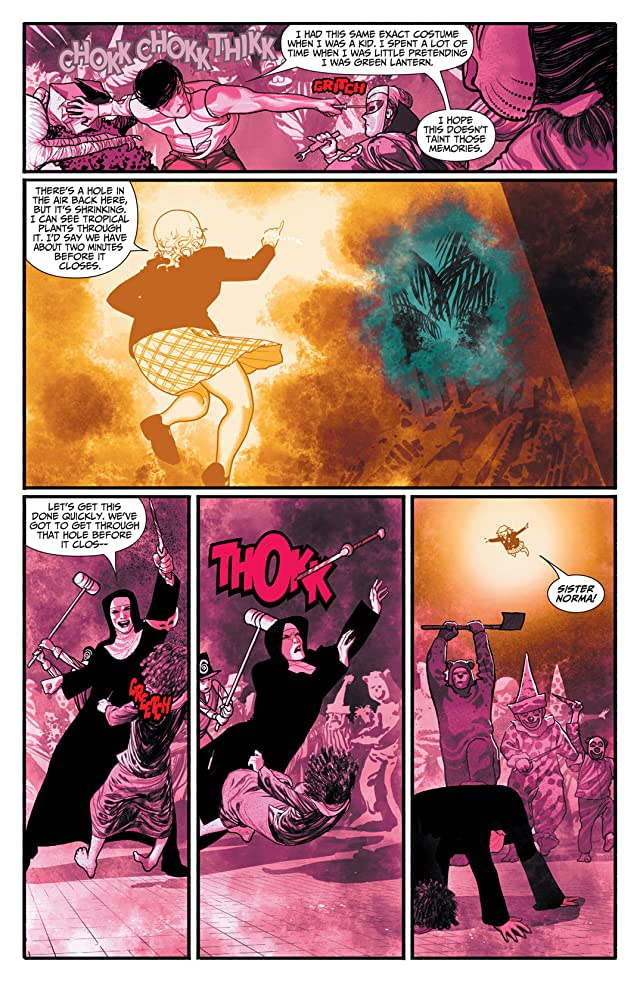 click for super-sized previews of Xombi #2