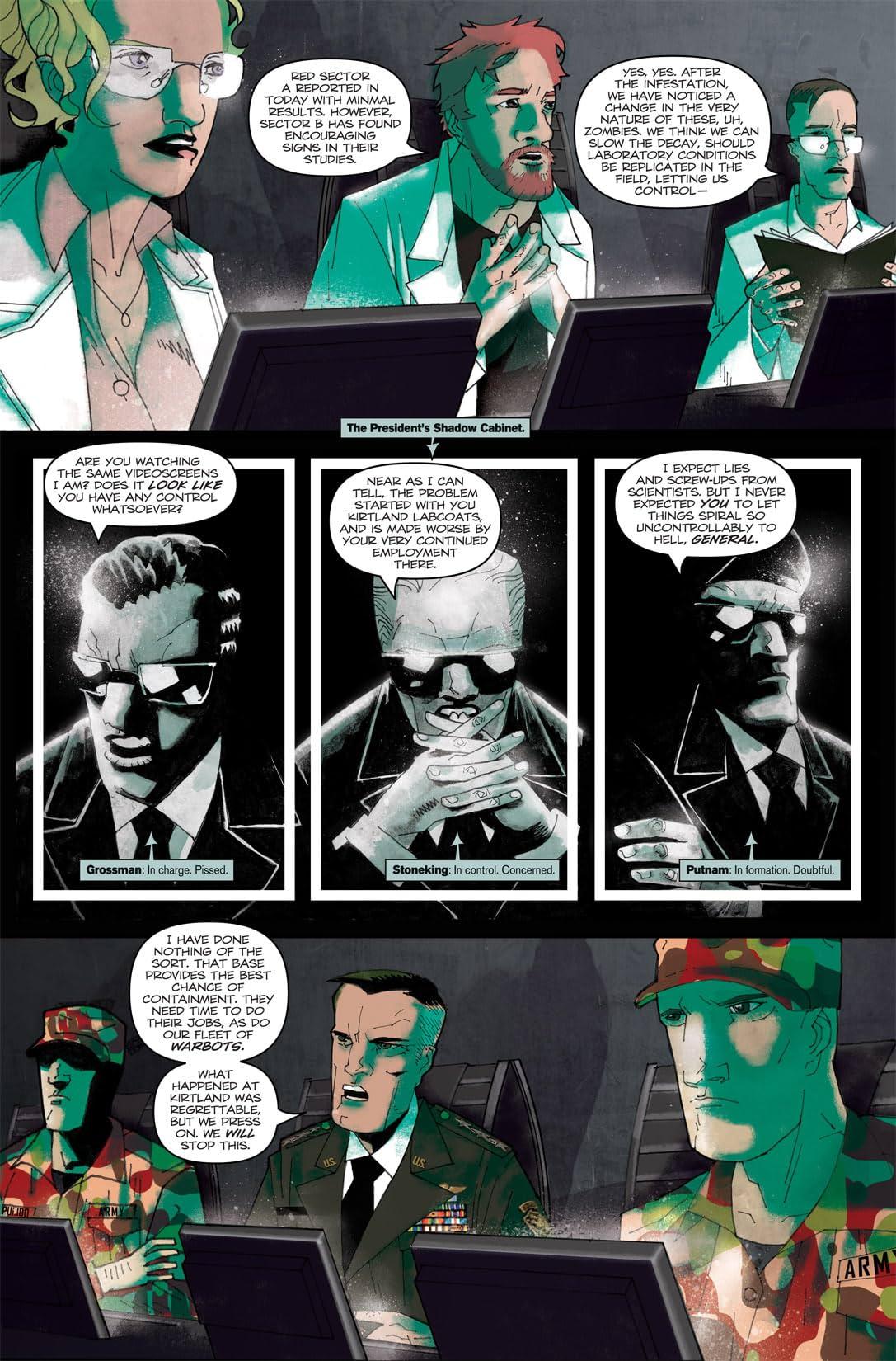 Zombies vs Robots: UnderCity #1