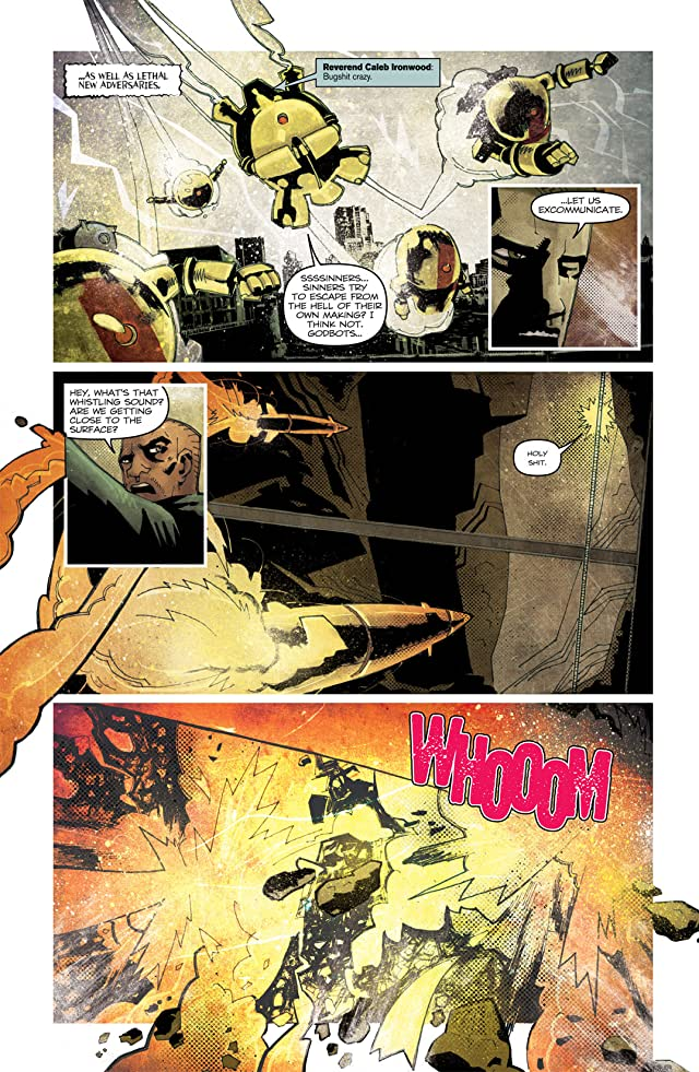 click for super-sized previews of Zombies vs Robots: UnderCity #4