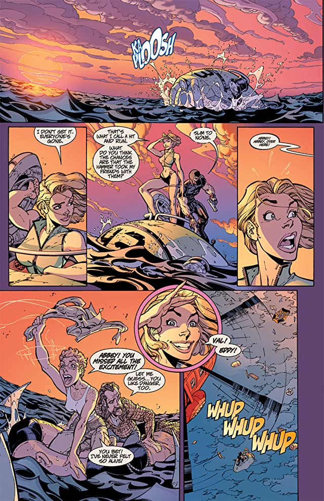 click for super-sized previews of Danger Girl #6