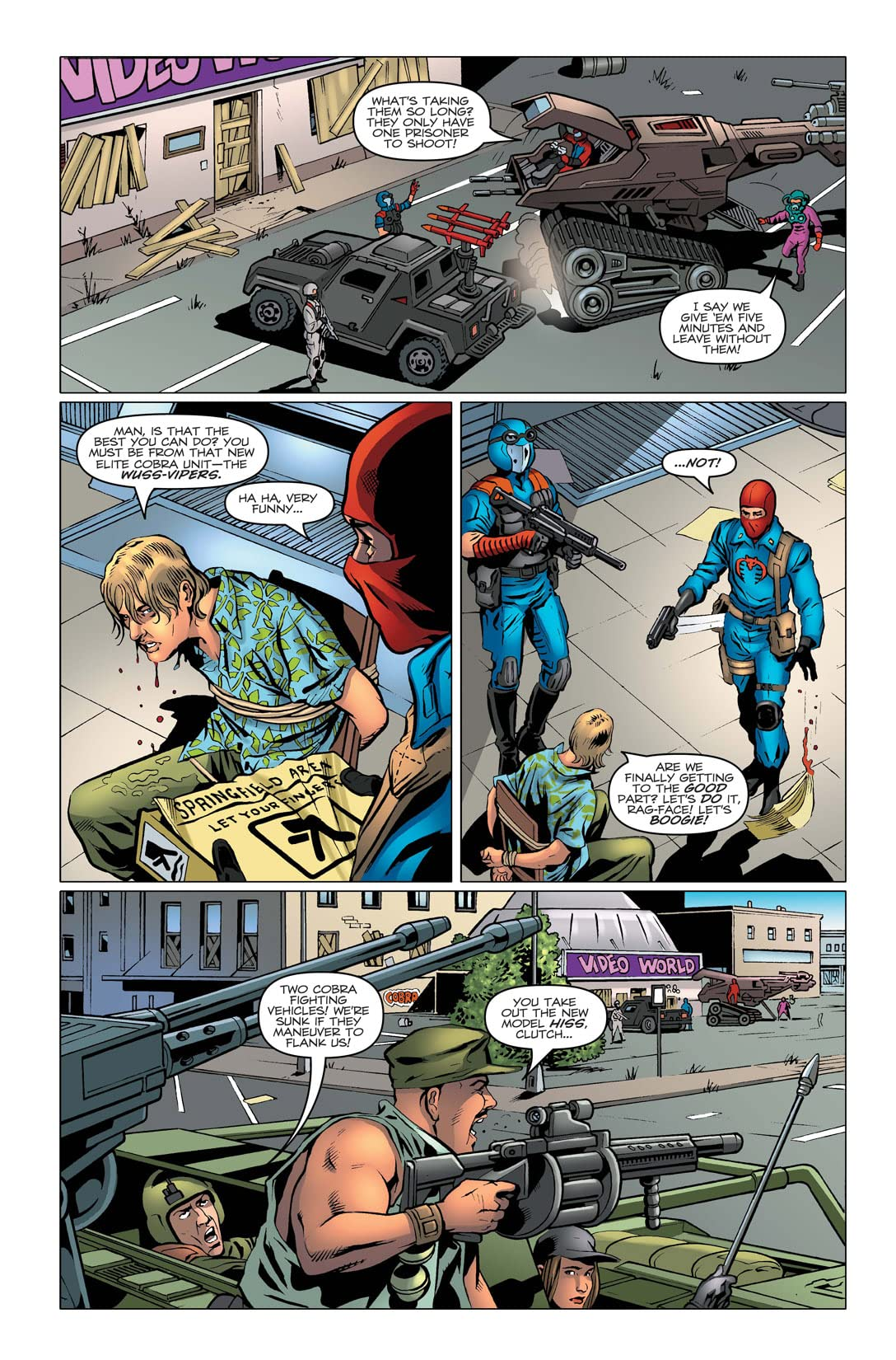 G.I. Joe: A Real American Hero #161