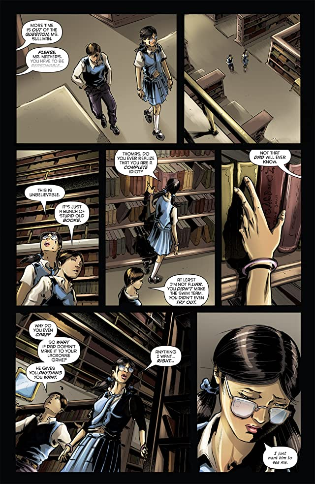 click for super-sized previews of Grimm Fairy Tales: The Library #1