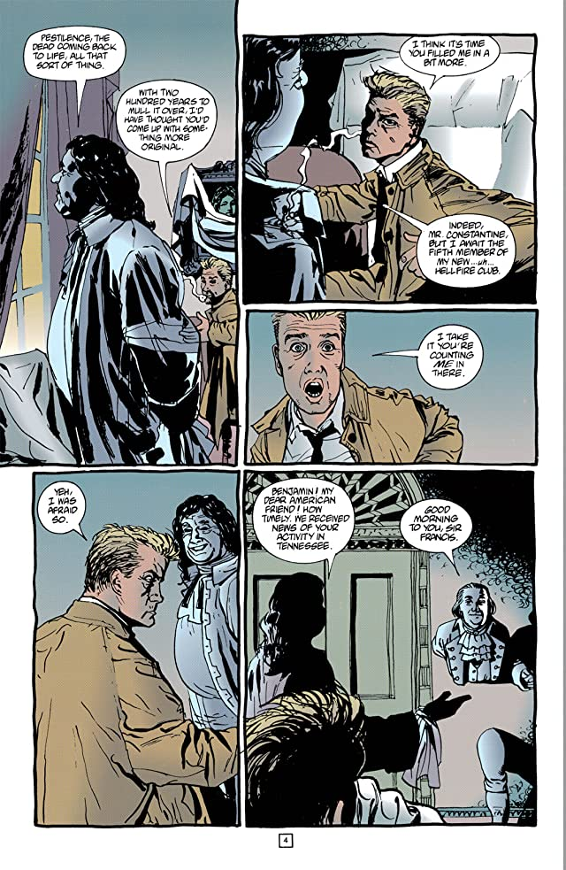 click for super-sized previews of Hellblazer #86