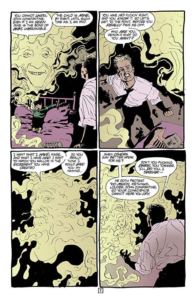 click for super-sized previews of Hellblazer #93