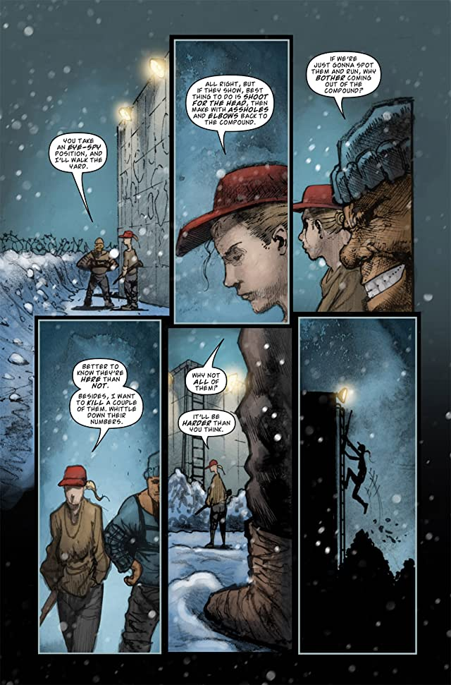 click for super-sized previews of 30 Days of Night: Night, Again #4